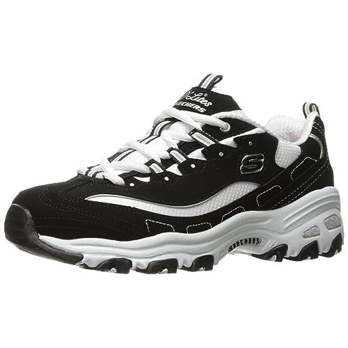 eb801b779819 Skechers Women s D Lites Memory Foam Lace-up Sneaker