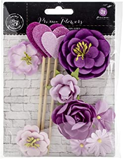 Prima Marketing Valentina Mulberry Paper Flowers 2.25-inch 1-Ciana