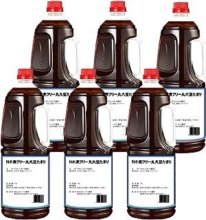 半田の旨味家 小麦フリー 丸大豆 たまり醤油 グルテンフリー 小麦不使用 1.8L × 6本 化学調味料無添加