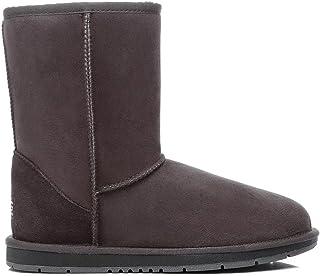 UGG Boots Short Classic Premium Australian Sheepskin Womens Mens Shoes Chocolate