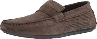 HUGO by Hugo Boss Men's Travelling Dandy Suede Perforated Moccasin