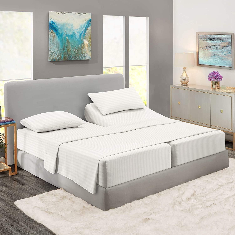 Split Cal-King Sheets for Sheet 限定価格セール Adjustable -Split Beds 与え