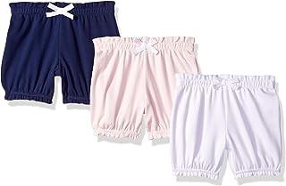 Amazon Essentials Girls' Infant 3-Pack Bloomer