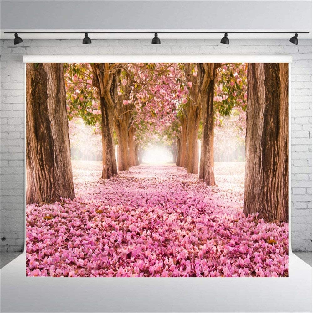 YADSHENG Photography Background Cloth Flowers Trees Photography Backgrounds Wall for Wedding Party Child Photography Backgrounds Color : E, Size : 150X210cm