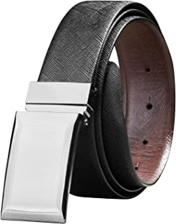 Mancala Brown Men /'s Genuine Leather Belt Pin Buckle Belt with Grace Gift Box