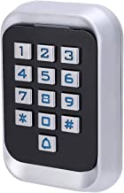 Access Control, Security LED Backlit Password Access Keypad, Door Controller, Metal Door Entry System for Office Home Supp...