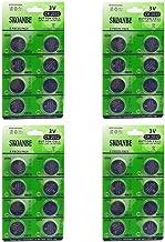 SKOANBE 4cards X 8pcs Total 32PCS Packs CR2032 DL2032 L2032 Lithium Battery 3V CR 2032 Coin Cell 230mAh