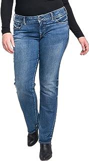 Silver Jeans Co. Women's Plus Size Suki Curvy Fit Mid...