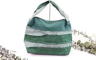 Ruusette Womens Zip Fastening Tatami Rim Casual Shoulder Bag