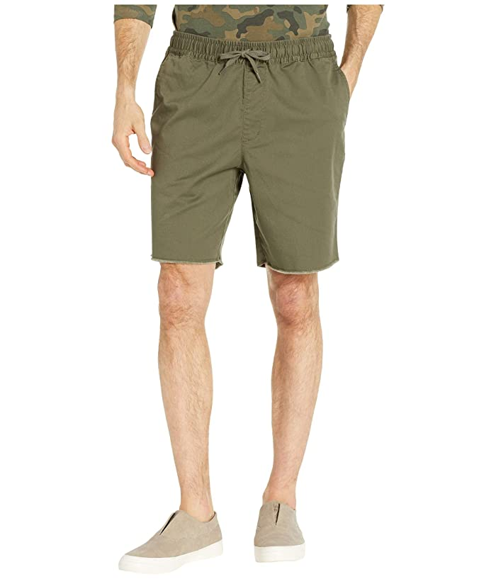 RVCA Weekend Elastic Shorts 19 (Olive) Men