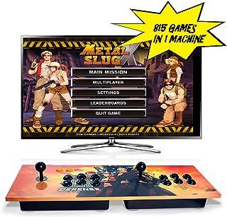 ElementDigital Arcade Games Console Arcade Joystick Pandora's Box 4S Plus Double Players Arcade Console 815 Classic Arcade Games with HDMI VGA Output for TV PC