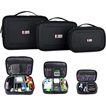 BUBM Accessories Storage Carry Bag Cable Case Travel Organiser 3 Sizes