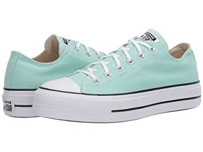 Converse Chuck Taylor All Star Lift Seasonal Ox (Ocean Mint/White/Black) Women