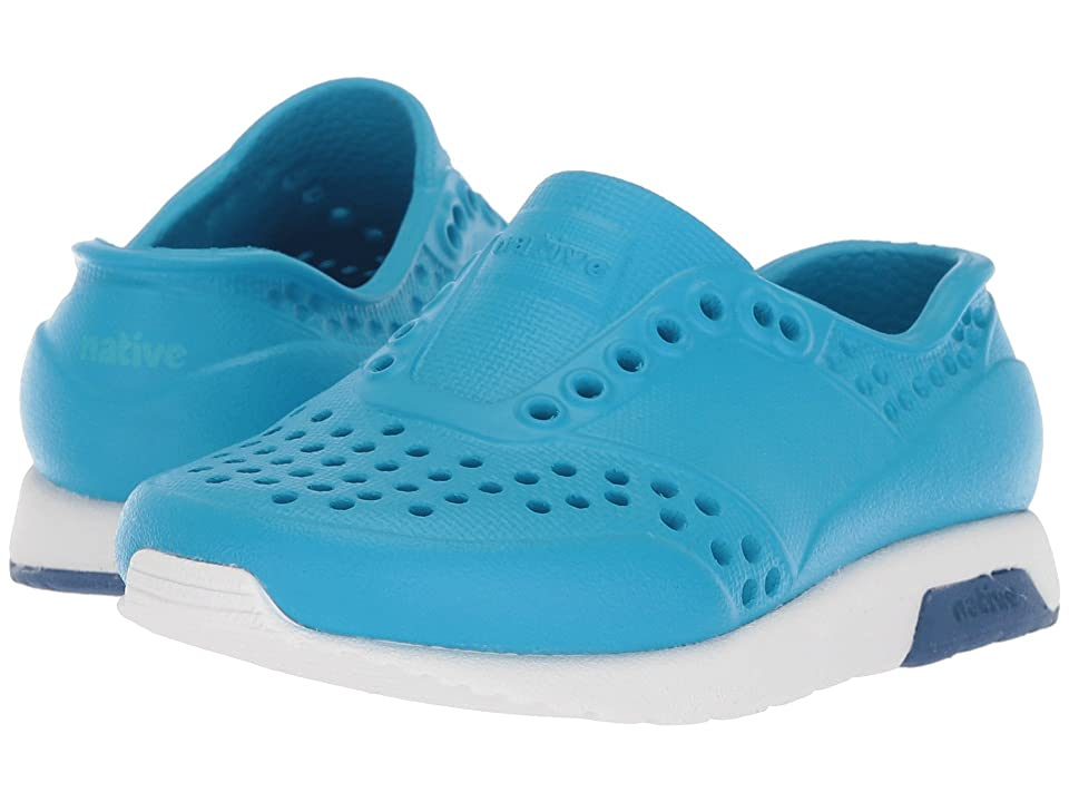 Native Kids Shoes Lennox (Toddler/Little Kid) (Wave Blue/Shell White/Victoria Blue) Kids Shoes