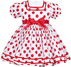 CHICTRY Baby Girls' Little Cutie Princess Dress Polka Dot Costume for Halloween Christmas Party