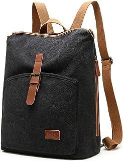 Backpack Rucksack Laptop Bag Fits Up to 13.3 Inch Laptop Unisex Casual Fashion Rucksack Laptop Travel Bag College Bookbag for Weekend Getaways Travel Shopping,A