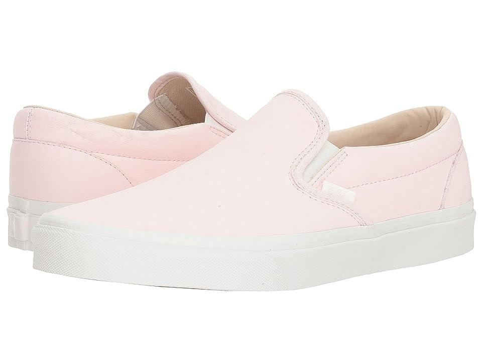 Vans Classic Slip-Ontm ((Vansbuck) Heavenly Pink/Blanc de Blanc) Skate Shoes
