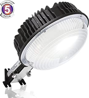 LED Barn Light 100W, Dusk to Dawn Ultra Bright LED Yard Lights with Photocell, 5000K Daylight 12,000LM 600W MH Replacement, IP65 Waterproof for Indoor Outdoor Wall Mount Security Area Lighting Fixture