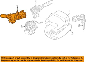 Toyota 84140-08160 Headlamp Dimmer Switch Assembly