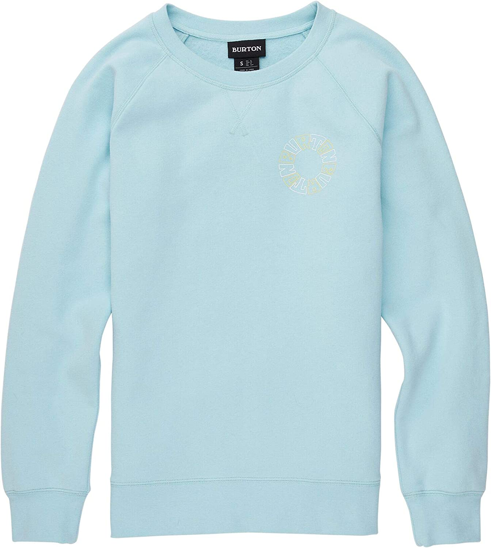 Burton Women's Keeler Sweatshirt Crew 注目ブランド 新発売 Neck