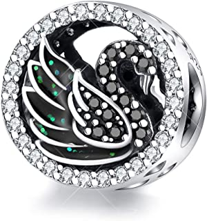 Best swan bracelet charm Reviews