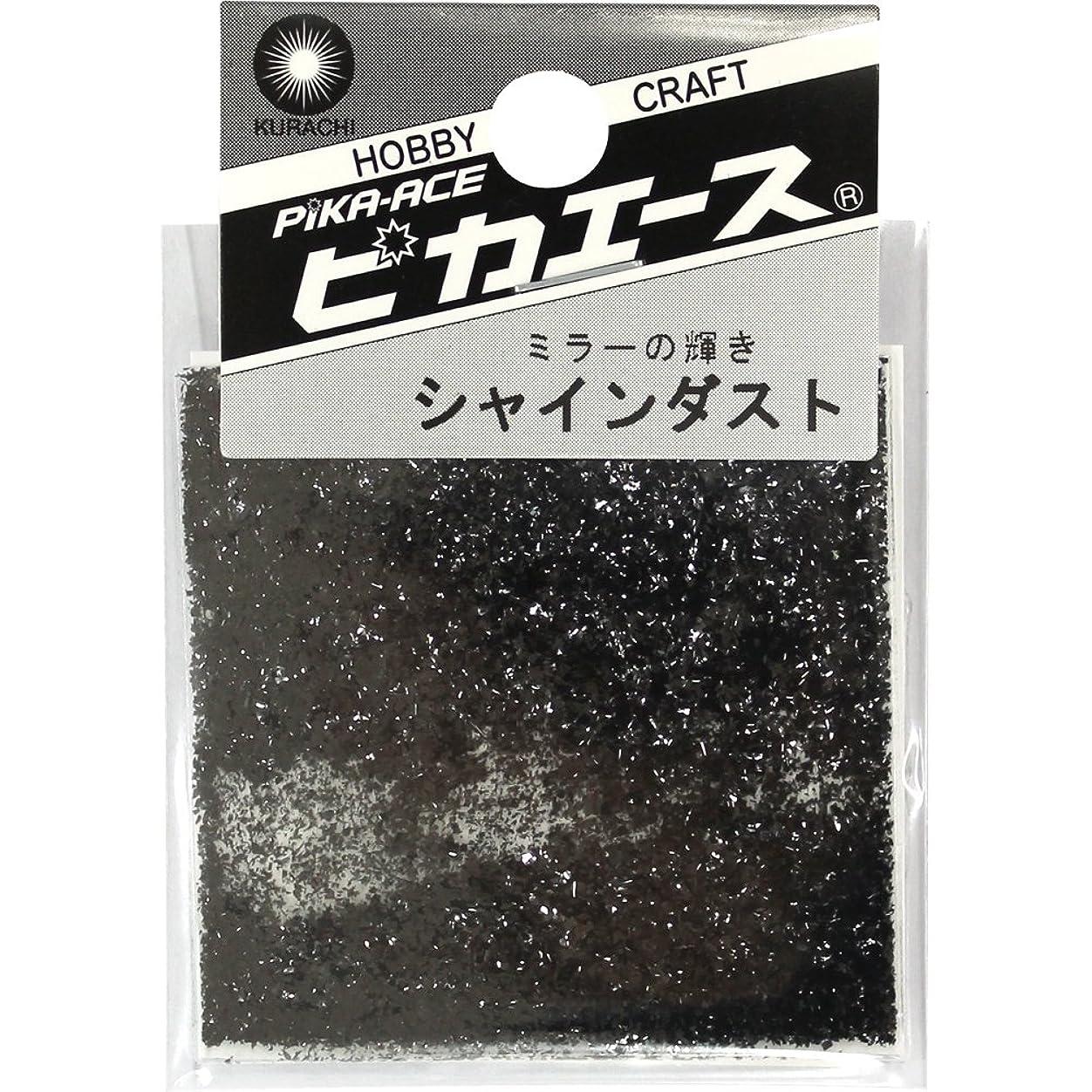 作曲家獲物安らぎピカエース ネイル用パウダー シャインダスト L #478 ミラーブラック 0.5g
