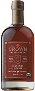 Crown Maple Syrup Maple Cinnamon Infused, 8.5 fl oz