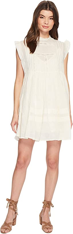 Free People - Nobody Like You Embroidered Mini Dress