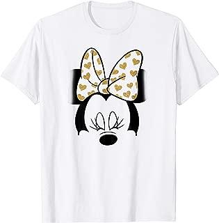 Minnie Mouse Golden Bow T Shirt