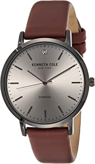 كينيث كول ساعة عملية كاجوال للرجال انالوج بعقارب جلد - KCC0120003