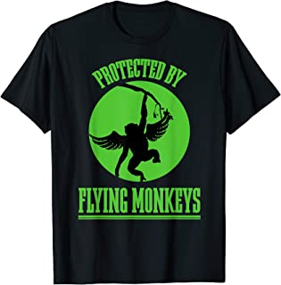Land of Oz Wicked Witch Get My Flying Monkeys Wizard of OZ T-Shirt