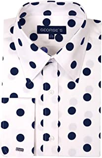 steven land polka dot dress shirts