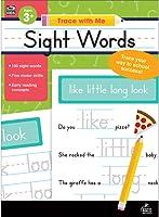 Carson Dellosa, Trace with Me: Sight Words Activity Book, Grades PK–2, Printable