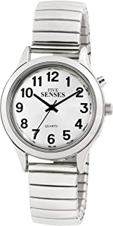 English Talking Watch for Seniors Women with Day-Date Loud Alarm Clock Visually Impaired by Five Senses 1391