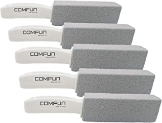 Comfun Pumice Stone Toilet Bowl Cleaner for Kitchen/Bath/Pool/Spa/Household Cleaning 5 Pack