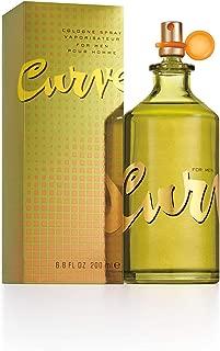 Curve for Men, Men's Cologne Spray 6.8oz
