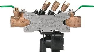 Zurn Wilkins 34-375XL 3/4-Inch Lead Free Reduced Pressure Backflow Preventer
