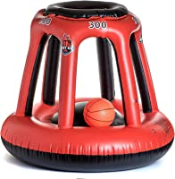 BESTKID BALL Swimming Pool Basketball Hoop - Inflatable Basketball Hoop Set with Ball, Pump and Two Needles Included -...