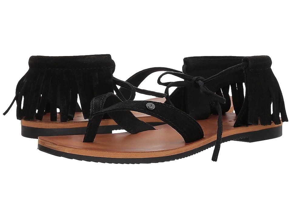 Volcom All Access Sandals (Black) Women