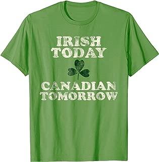 Funny Canadian Irish St. Patrick's Day Shirt Canada