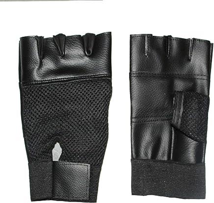 Rjkart Leather Gym Gloves