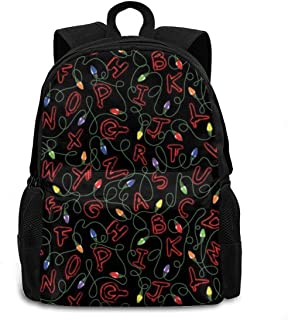 Laptop Backpack Durable Lightweight School Bookbag Casual Daypack Travel Hiking Camping College