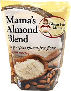 Gluten Free Mama's: Almond Blend Flour 2lbs - Pack of 6 & - Gluten Free Flour - Non-Gritty Texture - Great Flavor - Certif...