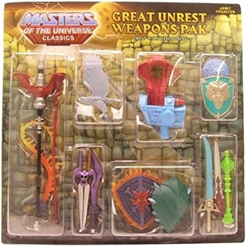 He-Man Masters of the Universe Classics Exclusive Weapons Pak Great Unrest by Mattel