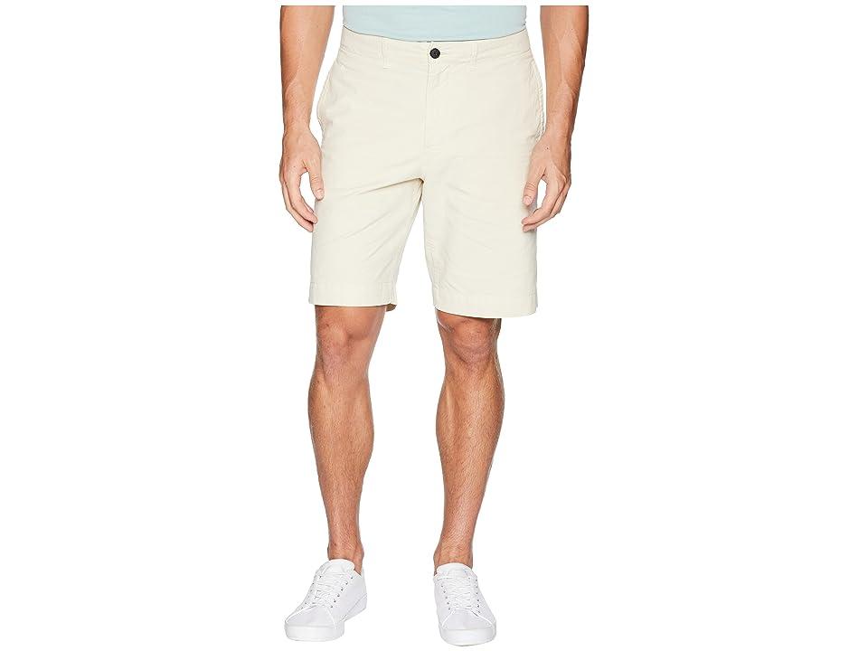 Image of Billy Reid Clyde Cotton Shorts (Eggshell) Men's Shorts