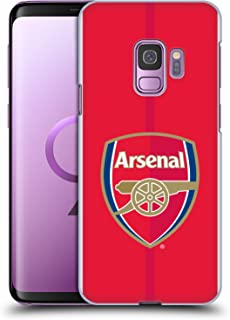 Official Arsenal FC Home 2016/17 Crest Kit Hard Back Case Compatible for Samsung Galaxy S9