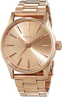Nixon Sentry 38 SS Watch All Rose Gold A450 897