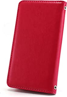 ホワイトナッツ Galaxy A8 SCV32 ケース 手帳型 【左利き】 ベルトなし スタイリッシュ マゼンタ スマホケース ギャラクシー エーエイト 手帳 カバー スマホカバー WN-OD494532_LL