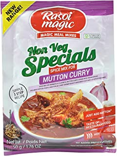 Rasoi Magic, Non Veg Special Mutton Curry Spice Mix, 50 Grams(gm)