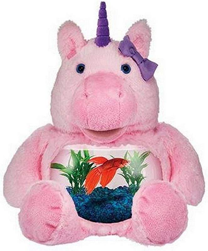 Teddy Tank Plush Pink Magical Unicorn